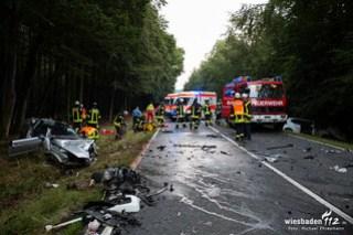 Tödlicher Verkehrsunfall B260 Heidenrod 05.08.16