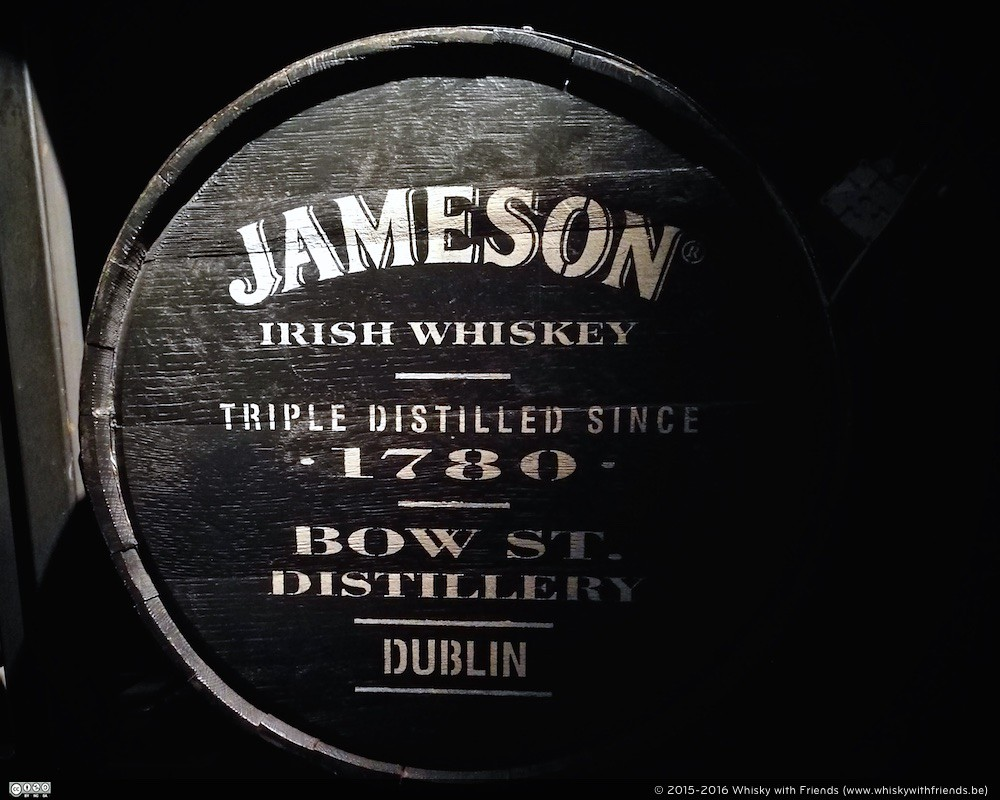 Jameson Irish Whiskey Cask