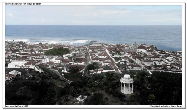 Puerto de la Cruz en 1898
