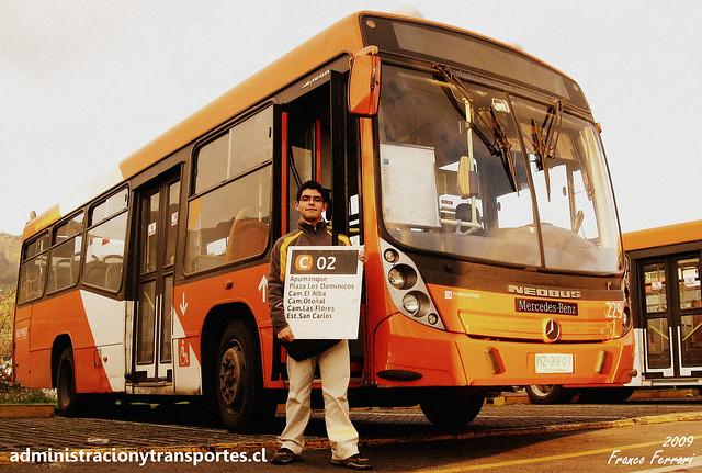 Ariel Cruz & Neobus Mega MB OH1115