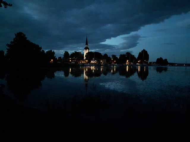 Mariefred by night