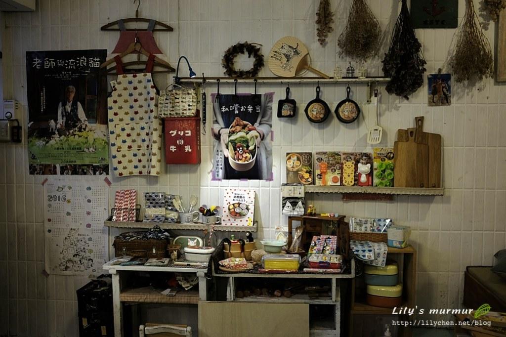 這是入口處旁的展示區,有很多老闆從日本帶回的可愛小物。