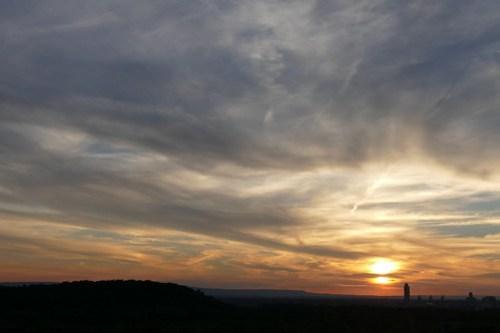 Sunset 9 August 2016
