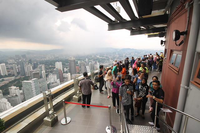 Skydeck at KL Tower