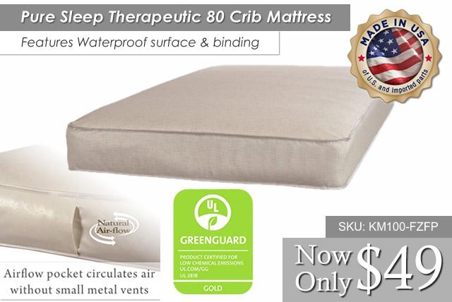 Pure Sleep Theraputic Mattress 80 KC