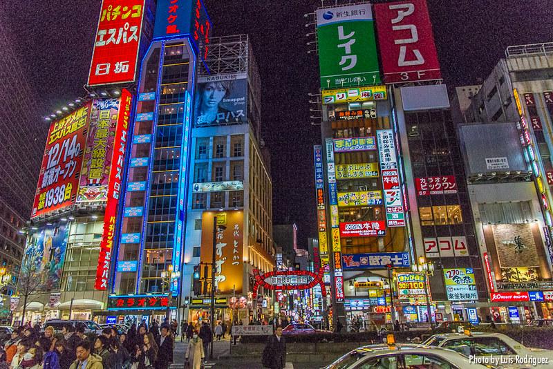 Kabukicho en Shinjuku