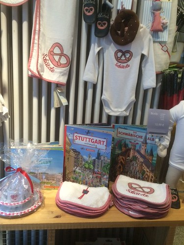 Cute Stuttgart related gifts and souvenirs for babies, toddlers and parents.