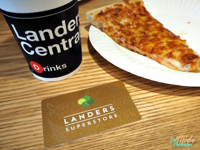 landers membership card