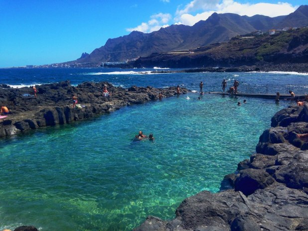 Playas de tenerife las mejores para cualquier poca del a o for Piscinas publicas en el sur de tenerife