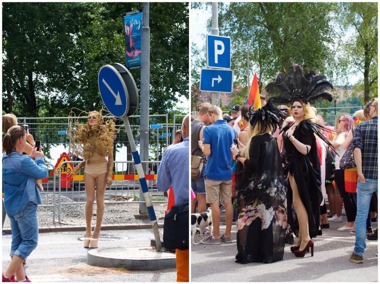 Stockholm Pride queens