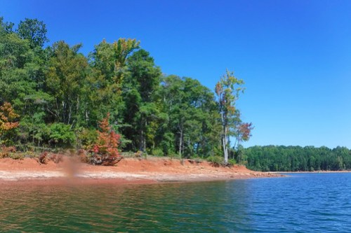 Paddling to Ghost Island in Lake Hartwell-71