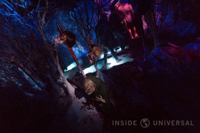 Knott's Scary Farm (2016) - The Dead of Winter: Wendigo's Revenge