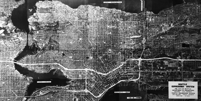 Planned expressway system, 1950