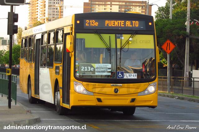 Transantiago   STP Santiago - 213e   Caio Mondego H 13.2 - Mercedes Benz / FLXP68 (Biportal - 4 Puertas)
