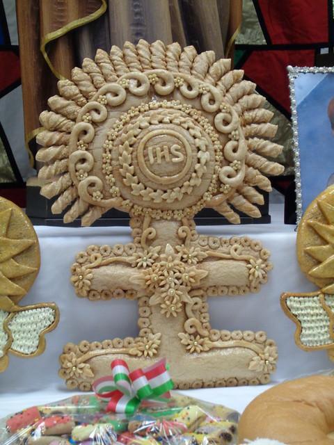 St Joseph Day Altar at St Cletus, Gretna LA