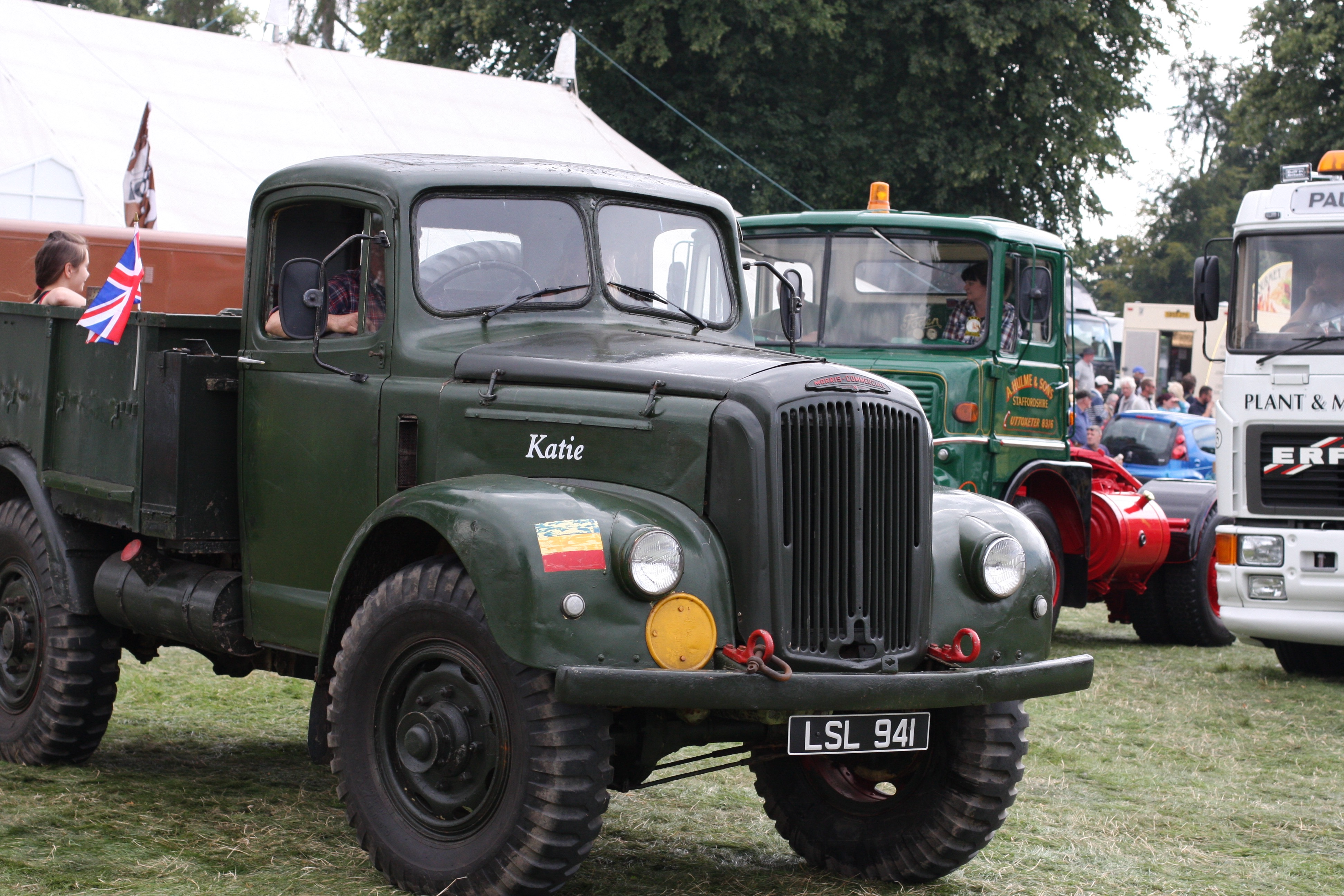 Astle Hall Steam Traction Engine Rally