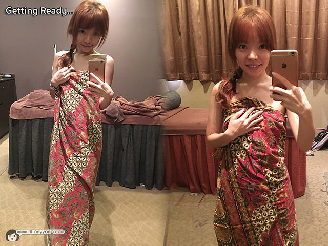 Slim fit Tiffany Yong Sarong Review