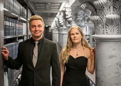 Duo Vesalainen & Saunamäki, photo: Jonte Knif