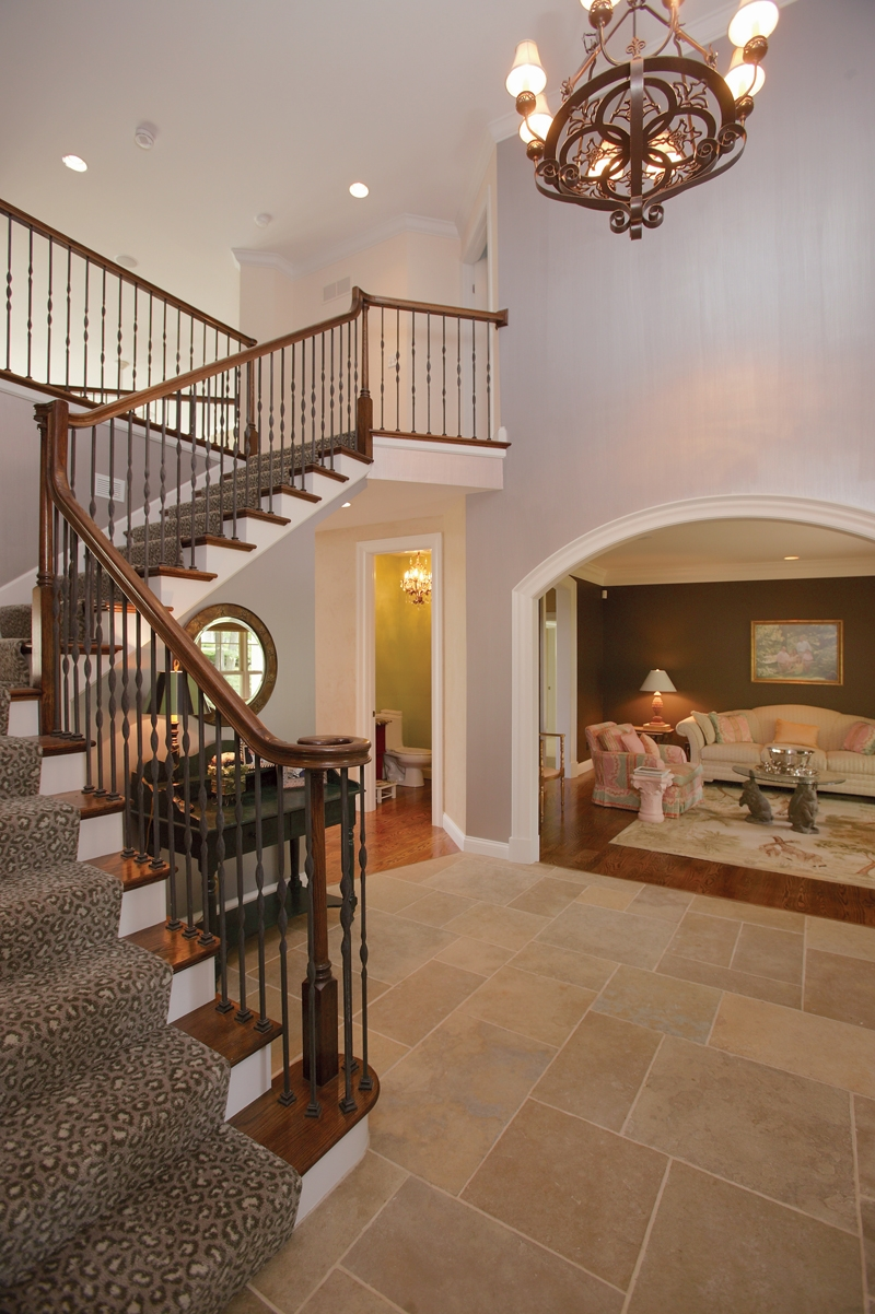 Southern House Plan Stairs Photo Luca Traditional Home Plan 079D | Stairs In House Plans | Residential | Upstairs Dream House | Grand Staircase | Sweeping Staircase House | Balcony