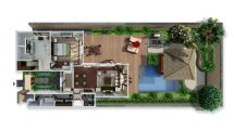 Bali Resort Floor Plans