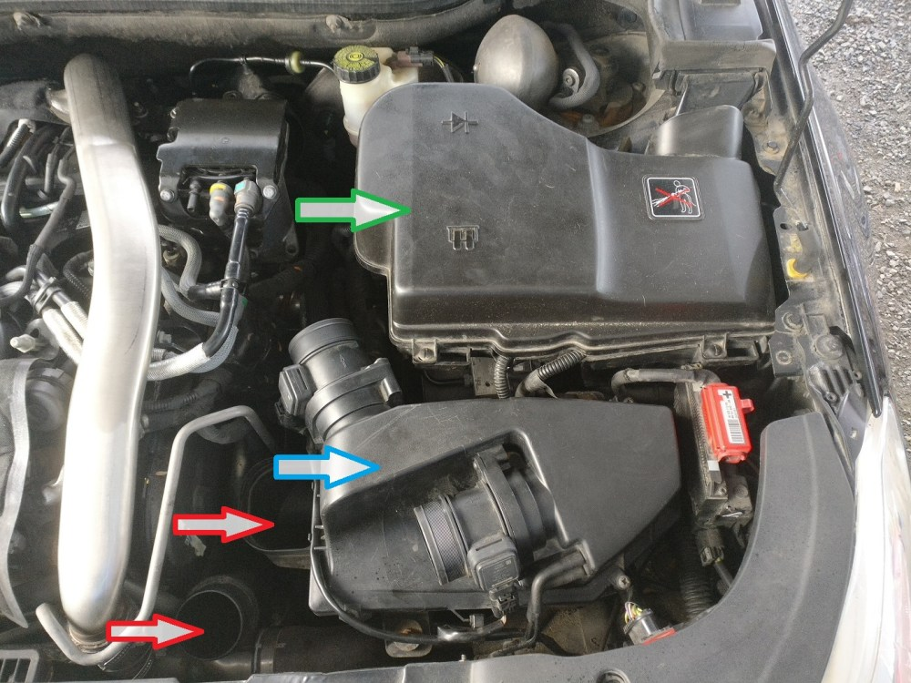 medium resolution of forums the garage 2 7hdi starter motor removal and refit citroen c5 fuse box removal