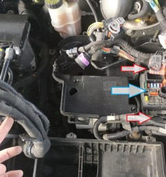 7 now you can see the starter motor disconnect wiring from the fuel filter and remove the mount for the electric harness fastened with two torx screws  [ 1392 x 1044 Pixel ]