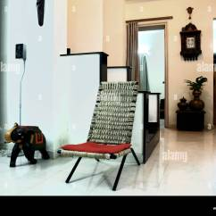 Chairs For Living Room India Leather Furniture Interior Of An Urban Indian Livingroom Chair Elephant Show Piece