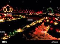 Traditional Christmas Lights on Trees, VanDusen Botanical ...