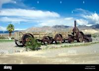 Borax wagon at the Furnace Creek Ranch in Death Valley ...