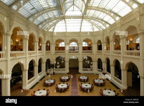 Atrium Of Iparmuveszeti Museum Applied Arts In Stock 4184063 - Alamy