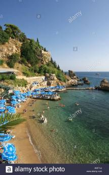 Mermerli Beach Antalya Turkey Stock Royalty Free