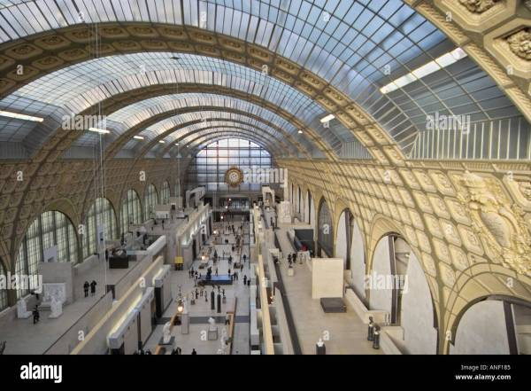 Mus 'orsay Paris Modern Art And Museum Created Stock Royalty Free