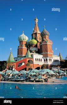 Kremlin Palace Hotel Antalya Turkey Stock Royalty