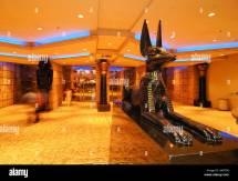 Statue Of Anubis In Lobby Luxor Hotel & Casino
