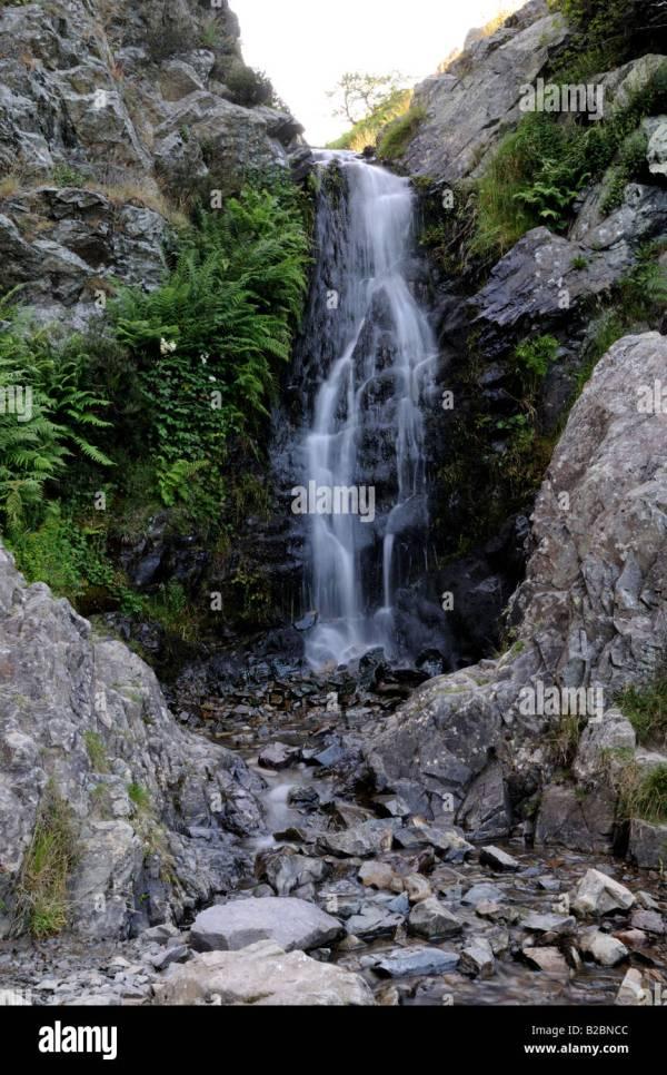 Light Spout Waterfall Carding Mill Valley Church Stretton