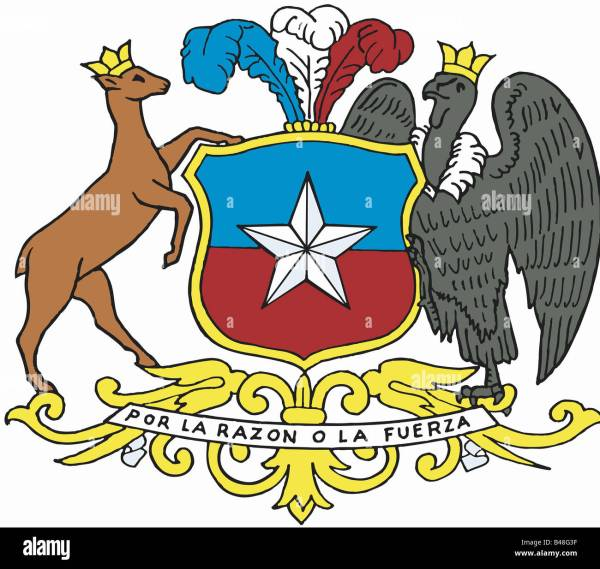 heraldry coat of arms Chile national coat of arms