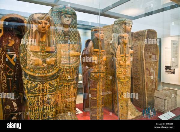 Egyptian Mummies British Museum London England United
