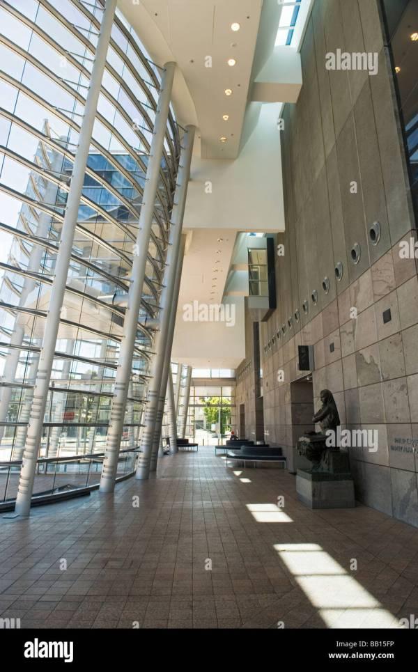 Entrance Lobby Interior Of Christchurch Art Stock Royalty Free