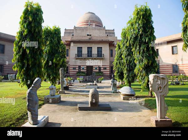 National Of Modern Art In Delhi Situated Jaipur Stock Royalty Free