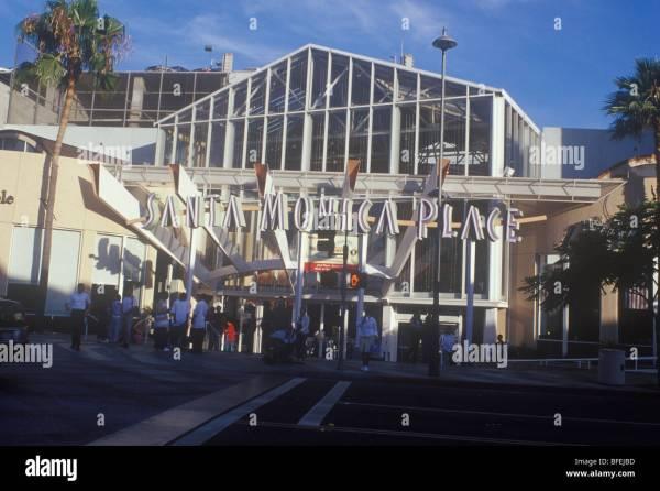 Santa Monica Place California West Coast Usa Frank Gehry