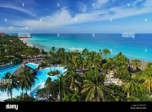 View Over Swimming Pool And Atlantic Ocean Hotel Melia