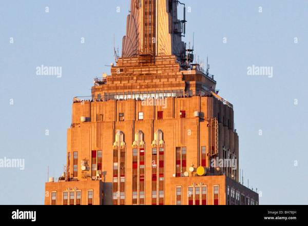 New York Empire State Building Top