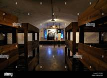 WWII Barracks Bunks Bed