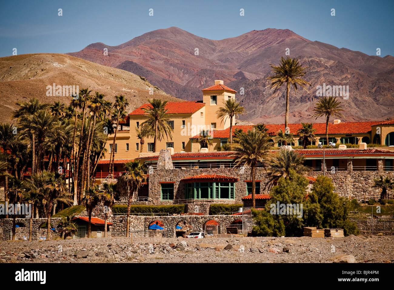 Historic Furnace Creek Inn at Death Valley National Park