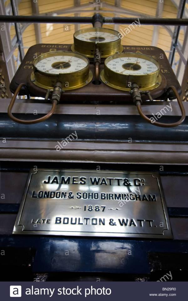 Beam Engine James Watt Scottish Inventor And Mechanical