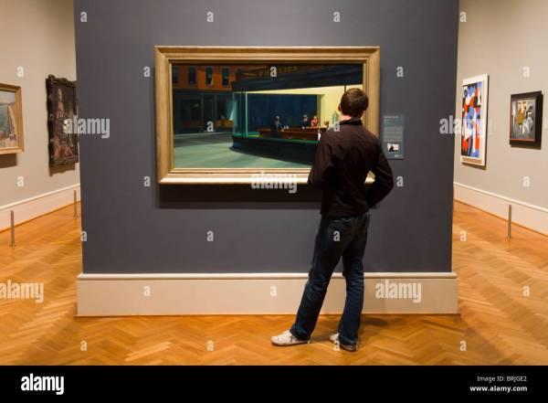 Edward Hopper Nighthawks Art Institute At