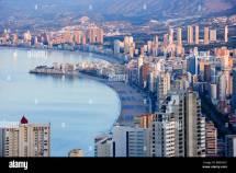 Spain Europe Benidorm City Costa Blanca Alicante Province