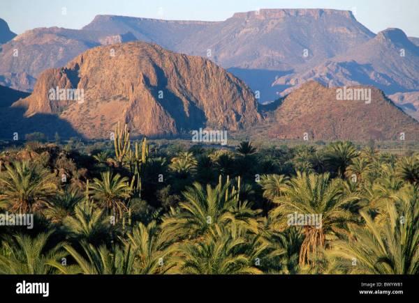 Baja California Mexico Central America America mountains