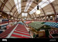 Derby indoor market a victorian market hall from the ...