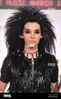 Bill Kaulitz Of Tokio Hotel Mtv Europe Music Awards 2008